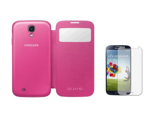 YGS Flip Cover For Samsung Galaxy S4 (I9500)_Pink