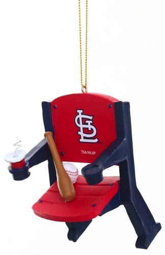 St. Louis Cardinals Official MLB 4 inch x 3 inch Stadium Seat Ornament