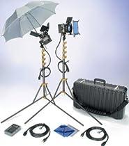 Lowel ViP GO Pro Visions Kit, Quartz Lighting Outfit with LB-30 Soft Case