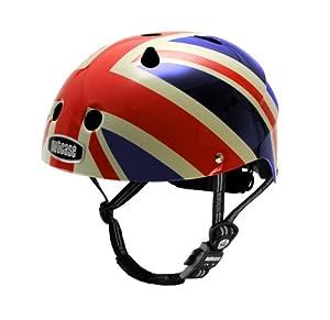 Nutcase Little Nutty Union Jack Bike Helmet, X-Small (46 cm-52 cm)