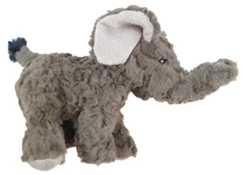 "Wildlife Collection 7"" Plush Grey Elephant - 1"