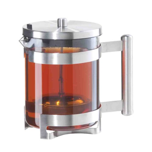 Oggi 6577 Fusion Teapot With Built In Stainless Tea Infuser, 40-Ounce