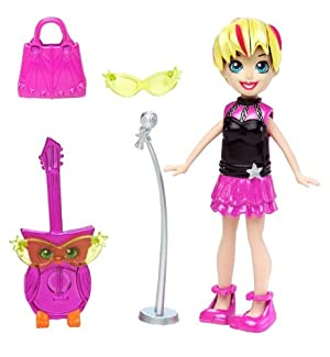Polly Pocket Cutants Doll and Pet - Polly & Owlectric Guitar Dolls at Sears.com