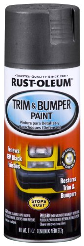 Rust-Oleum Automotive 251574 11-Ounce Trim and Bumper Spray, Matte Black