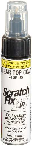 Dupli-Color Ngsf125 Clear Exact-Match Touch-Up Top Coat - 0.5 Oz.
