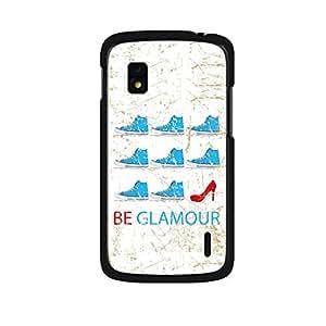 Vibhar printed case back cover for Nexus 4 BeGlam