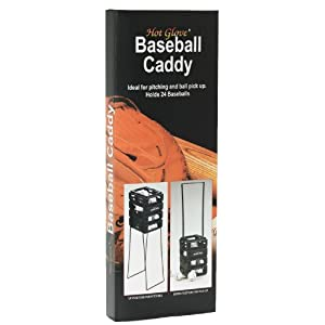 Unique Hot Glove Baseball Caddy, Holds 24 Baseballs