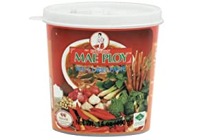 Amazon.com : Mae Ploy Thai Red Curry Paste - 14 ounce per jar : Curry ...