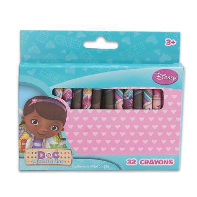 Disney Doc McStuffins 32 Crayons Set