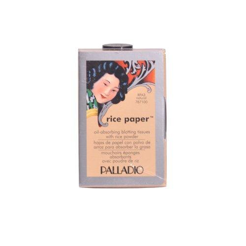 Palladio Rice Paper Blotting Tissues Natural