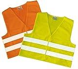 #3: Warnweste GELB, neue Norm (EN ISO 20471:2013), AUTO Warnwesten, Pannen-/Unfallweste