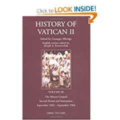 The History of Vatican II, Vol. 3: The Mature Council, Second Period and Intersession, September 1963-September 1964