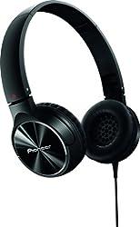 Pioneer SE-MJ532-K Fully Enclosed Dynamic Headphone - Black