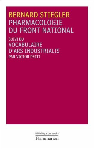 Pharmacologie du Front national : Suivi du Vocabulaire d'Ars Industrialis