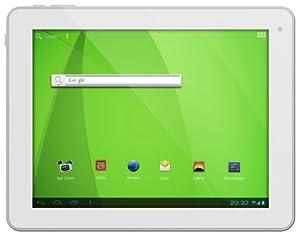 "Odys Noon Pro 24,6 cm (9,7"") Tablet-PC (Rockchip Quad Core Prozessor, 1,6GHz, 1GB RAM, 16GB HDD, HDMI, WLAN, Android 4.2.x, IPS Display, Bluetooth 2.1., OTA) Blanc/ Alu"