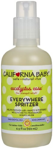 California Baby Eucalyptus Ease Everywhere Spritzer - 6.5 oz