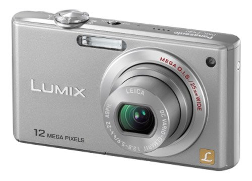 Panasonic Lumix FX40 Digital Camera - Silver (12.1MP, 5x Optical Zoom) 2.5 inch LCD
