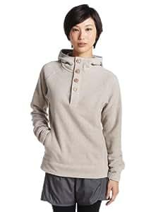 Berghaus Lhasa Half Zip Women's Fleece - Pale Stone Marl, Size 8