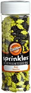 Wilton Bug Sprinkles Net Wt 3.5 oz/99g