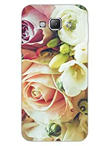 King Of Heart - Roses - Floral - Hard Back Case Cover for Samsung A8 - Superior Matte Finish - HD Printed Cases and Covers