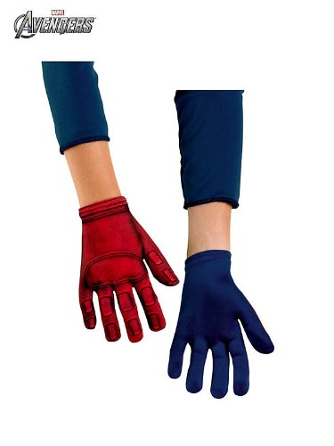 Captain America Gloves Costume Accessory