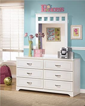 "White Dresser - Design by ""Famous Brand"" Furniture NoPart: 12-201B"