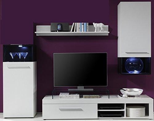 66572531-Wohnwand-mit-Beleuchtung-moderne-und-gnstige-Wohnkombination-weiss-schwarz-dekor-TV-Lowboard-Regal-Hngeschrank-Anstellschrank