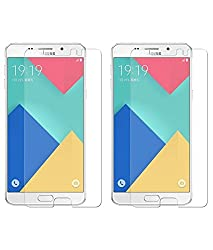 Samsung Galaxy a9 2.5D Curve Screen Guard Crystal Clear Bubble Free Screen Protector Tempered Glass Shatter Proof |Screen Protector Tempered Glass Screen Guard Shatter Proof Samsung Galaxy a9 2.5D Curve