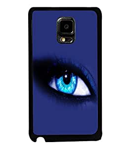 printtech Blue Eye Back Case Cover for Samsung Galaxy Note i9220::Samsung Galaxy Note 1 N7000