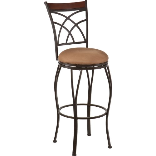 Ashbourne swivel bar stool Home bar furniture amazon