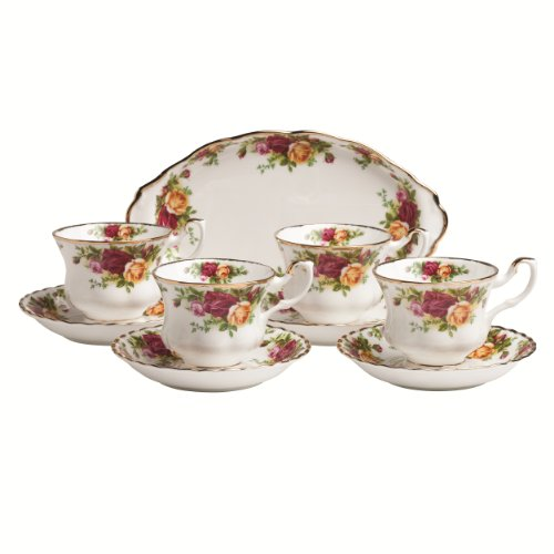 Learn More About Royal Albert Old Country Roses 9-Piece Teaset Completer Set