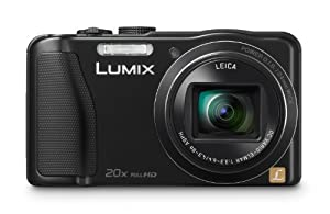 Panasonic Lumix DMC-ZS25 16.1 MP Compact Digital Camera with 20x Intelligent Zoom (Black)