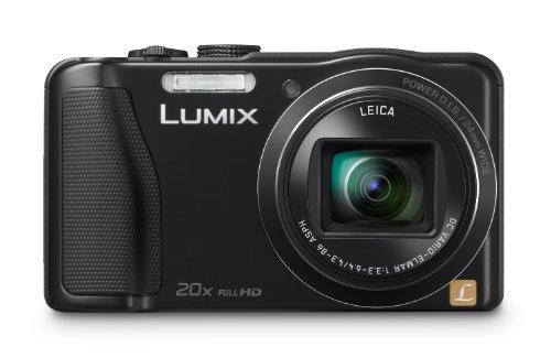 Panasonic Lumix DMC-ZS25 16.1 MP Compact Digital Camera with 20x Intelligent Zoom (Black)
