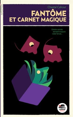 Les aventures du carnet magique (1) : Fantôme et carnet magique