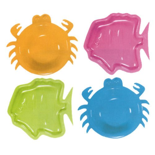 Sea Creatures Mini Snack Tray (1 ct)