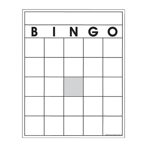 Blank Bingo Template  BesikEightyCo