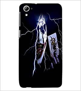 Printdhaba Joker D-5982 Back Case Cover For Htc Desire 826