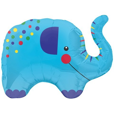 "14"" Airfill Self Sealing Balloon Little Elephant - 1"