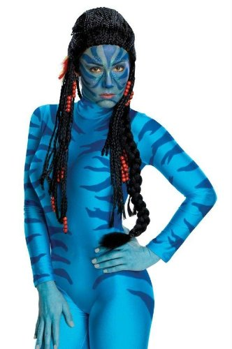 Costumes For All Occasions Ru51996 Avatar Neytiri Deluxe Wig