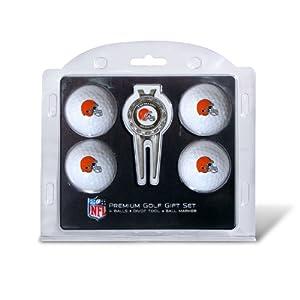 NFL Cleveland Browns 4 Golf Balls and Divot Tool