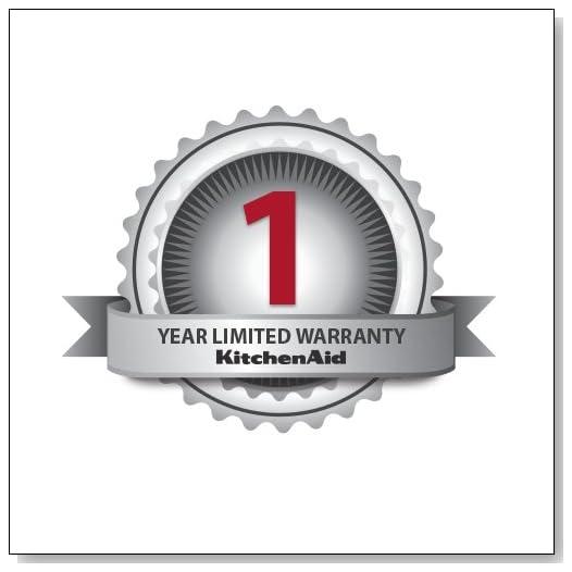 KitchenAid KFP1133CU 1-Year Limited Warranty