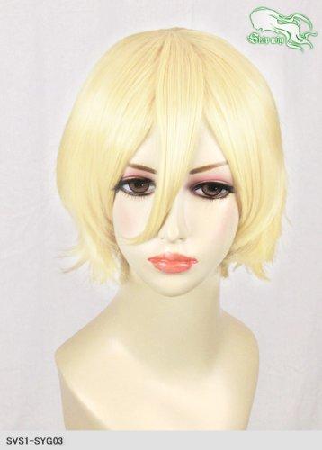 スキップウィッグ 魅せる シャープ 小顔に特化したコスプレアレンジウィッグ マニッシュショート ミルキィゴールド