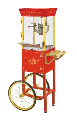 Nostalgia CCP-510 Circus-Cart Popcorn Maker, Red