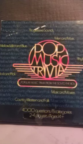 Pop Music Trivia Game-Popular Music Trivia From The 50's To The 80's - 1
