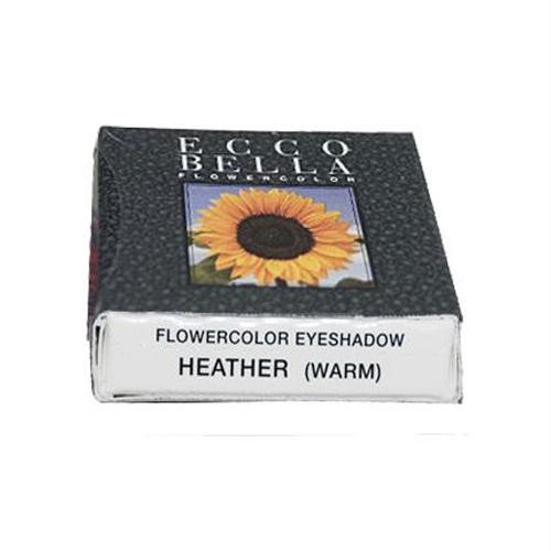 エコベラ FlowerColor Eyeshadow Pan Heather 0.05 oz