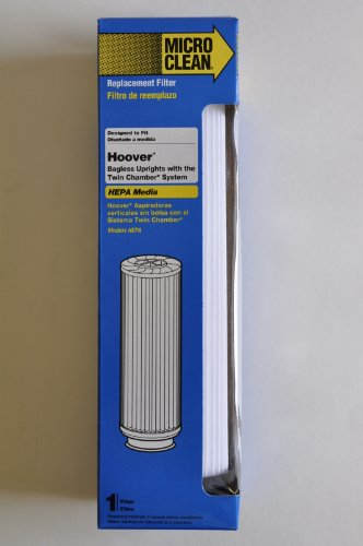 Hoover Bagless Upright Replacement Filter. Fits Hoover Windtunnel, Empower and Savvy models with Twin Chamber System. Replaces OEM Part # 40140201, 43611042, 42611049, Type 201 (Filter For Hoover Empower compare prices)