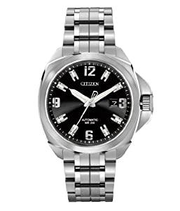Citizen Men's NB0070-57E Grand Touring Signature Mechanical Sapphire Crystal Watch