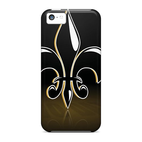 Top Quality Case Cover For Iphone 5C Case With Nice New Orleans Saints Appearance
