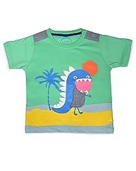 boys pepito t-shirt sea green 6-9 M