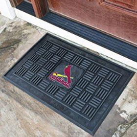 St. Louis Cardinals MLB 19 X 30 Medallion Door Mat by St. Louis Cardinals